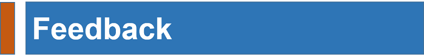 Feedback / Suggestion