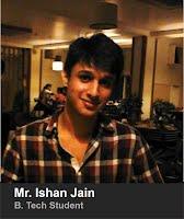 Ishan Jain B.Tech 2014