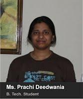 Ms. Prachi Deedwania