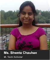 Ms. Shweta Chauhan- M.Tech 2015