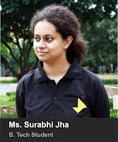 Ms. Surabhi Jha- B.Tech. 2015