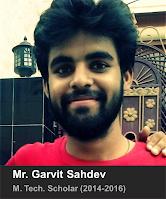 Mr. Garvit Sahdev
