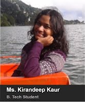 Ms. Kirandeep Kaur- B.Tech. 2015