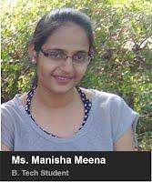 Ms. Manisha Meena- B.Tech. 2015